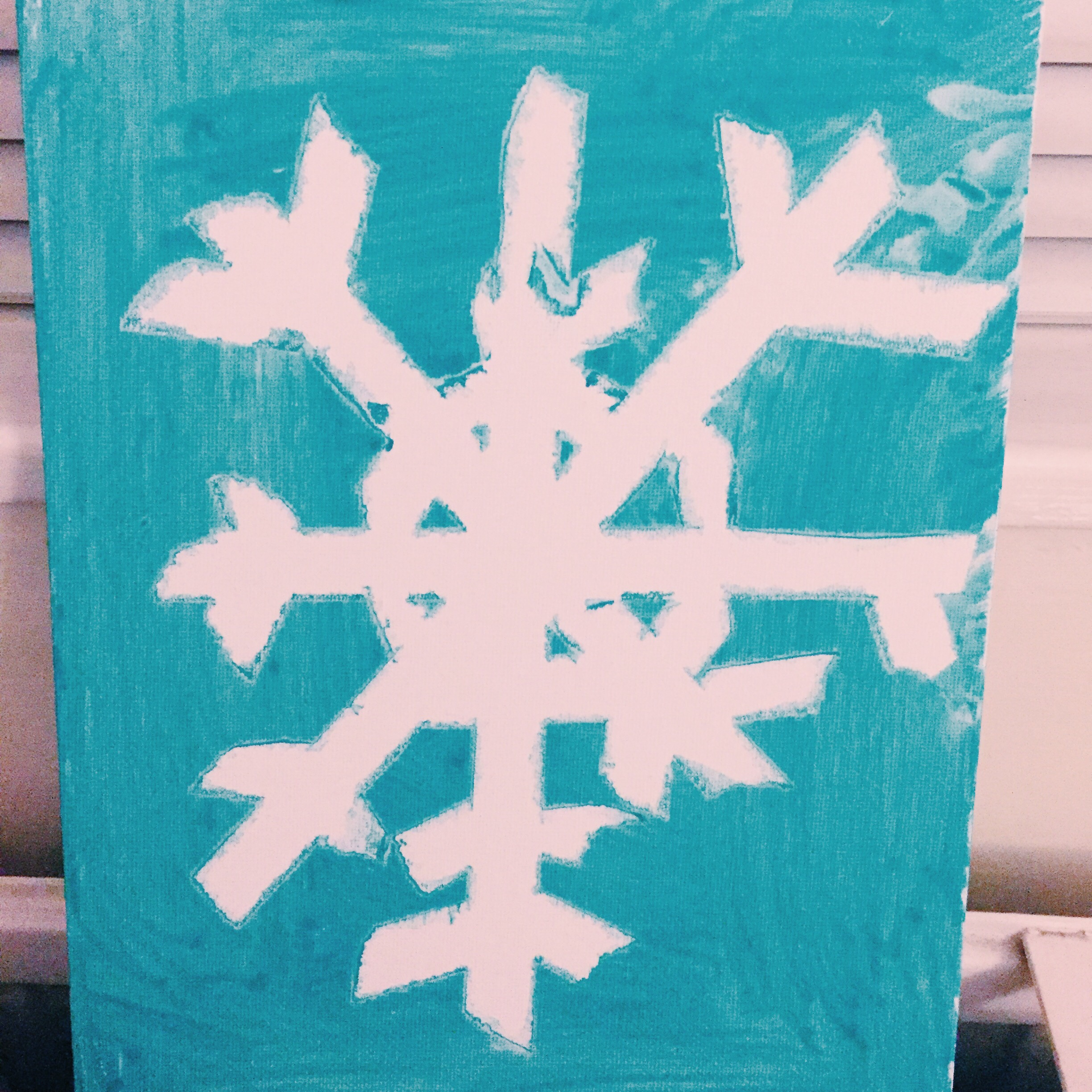snowflake christmas crafts