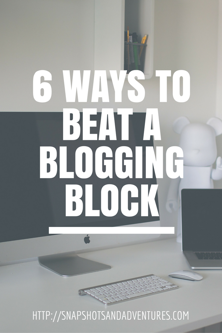 blogging block