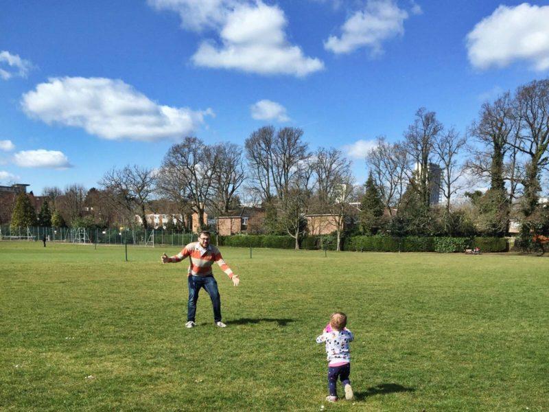 running easter park