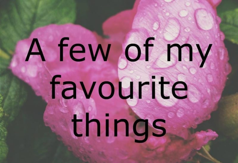 favourite things