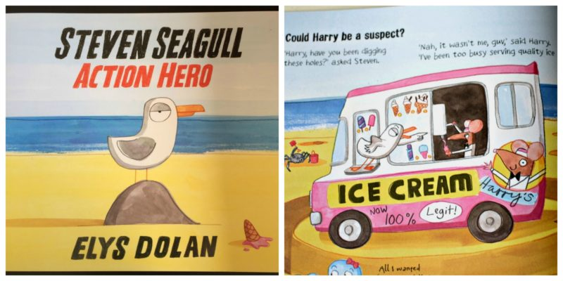 steven seagull cover and inside shot of the book