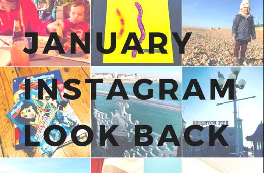instagram look back january