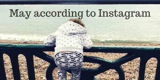 may instagram roundup toddler from behind on beach