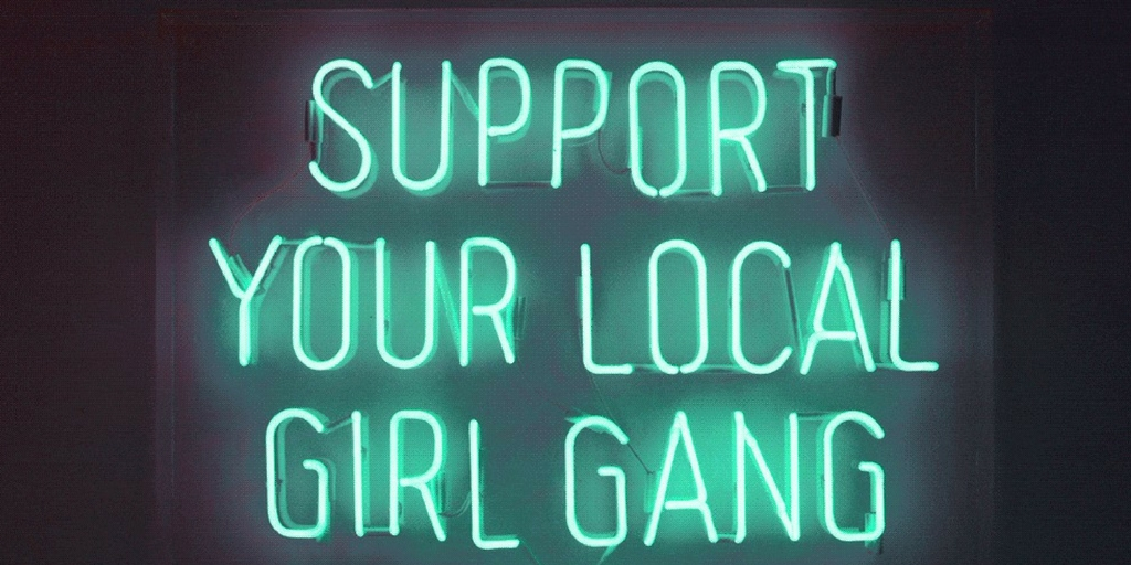 support girl gang logo blogs