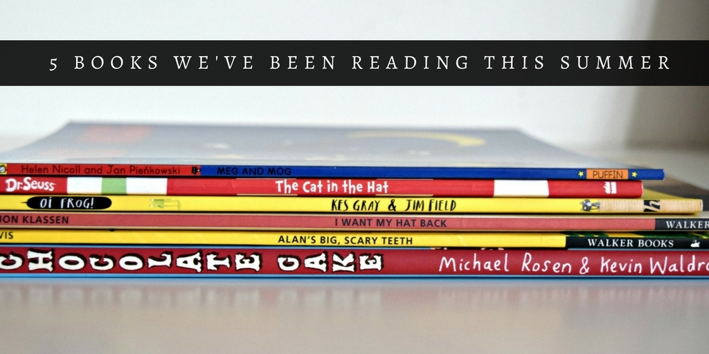 5 books we've been reading this summer
