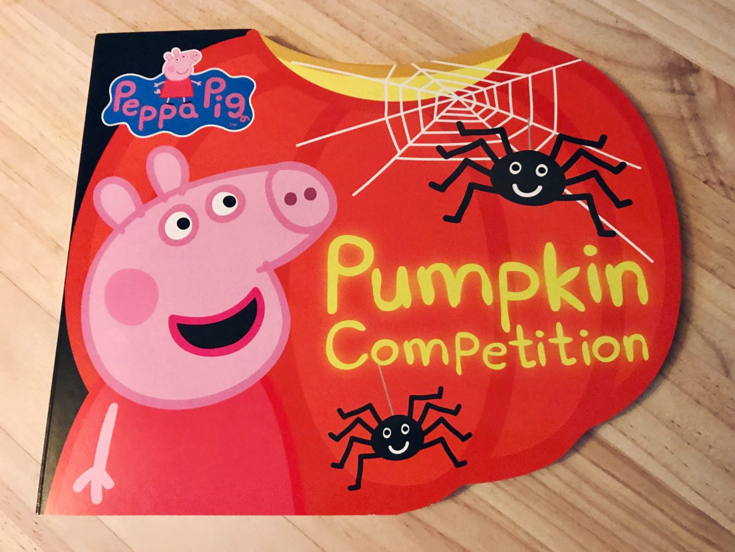 peppa pig pumpkin books cover