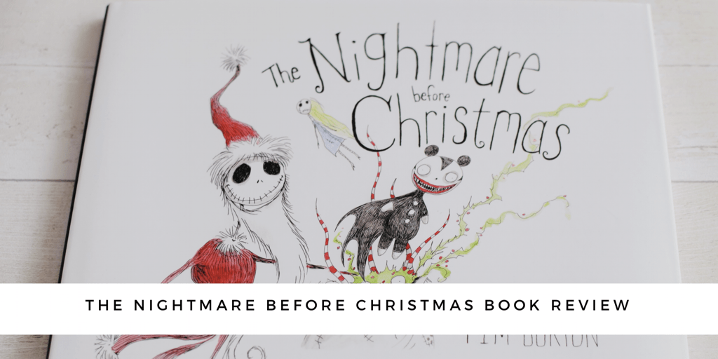 The Nightmare Before Christmas Book Review