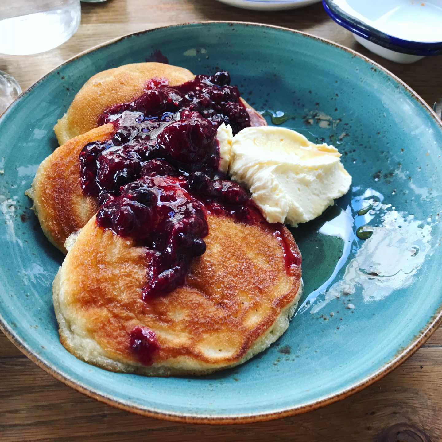 pancakes brunch blue plate the new club brighton